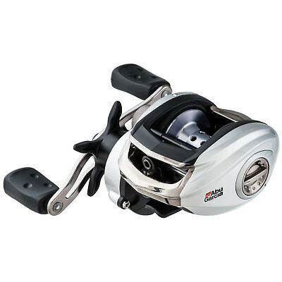NEW Abu Garcia Silver Max 3 Left Hand Baitcast Fishing Reel SMAX3-L