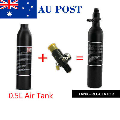 4500psi 0.5L Tank High Compressed Air Bottle Paintball PCP With Regulator
