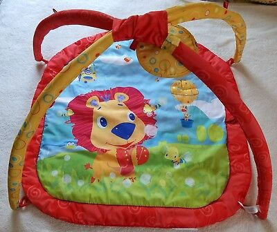 Baby's Floor Mat~ Jungle Theme~ NB To Age 3 Months~ Bright Starts