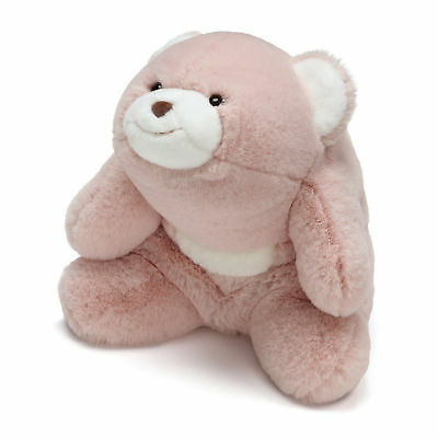 GUND - Snuffles Teddy Bear, Sitting - Plush Animal 10-in, Rose Pink