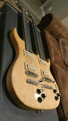 1980 Carvin DN612 Doubleneck Guitar ohsc very good condition
