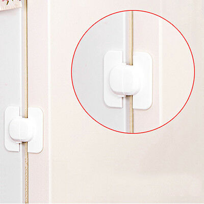 Cabinet Door Drawers Refrigerator Toilet Safety Plastic Lock For Child Kid O3