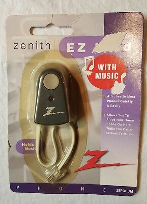 Zenith EZ hold - EZMusic on Hold Player - Powered by your phone line - NEW