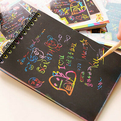 Baby Children Drawing Board Paper Notebook Scratch Paper Painting Stationery AU