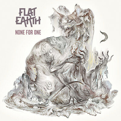 FLAT EARTH - None For One - White-Violet-Marbled-Vinyl-LP - 884860243919