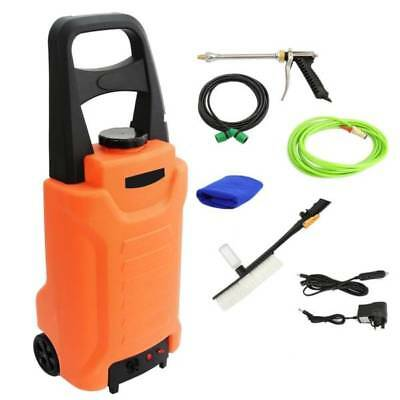 12v Pressure Washer Portable Car Home Garden Cleaning Trolley 35L