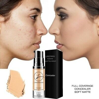 Cream Face Corrector Base Liquid Concealer Eye Dark Circles Waterproof Make Up