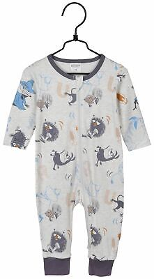 Moomin baby zipsuit SPEED/GREY