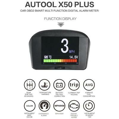 Autool X50 Plus Auto HUD FÜR OBD Head Up Display Digital Km/H MPH Speedometer