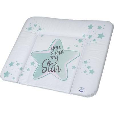 Rotho Babydesign Wickelauflage 72x85 swedish green motiv you are my star