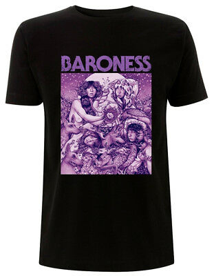 Baroness 'Purple Cover' T-Shirt - NEW & OFFICIAL!