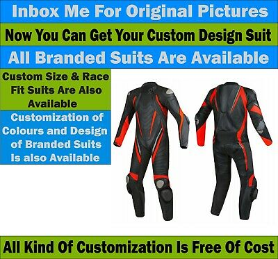 Motorbike Motorcycle Street Racing 1.3mm Leather Suit CE Approved