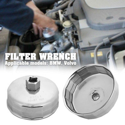 36D8 Auto Oil Filter Wrench 84mm Silver Motivx Tools for BMW Volvo