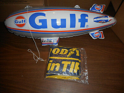The Inflatabls Gulf (used) & Good Year Tire (New) Advertising  Factory Sealed