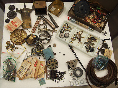 Clock / Watch Repairers Junk Drawer Lot
