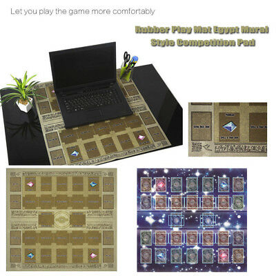 Yu-gi-oh Card Rubber Play Mat Egypt Style 60x60cm Link summon Correspondence YT