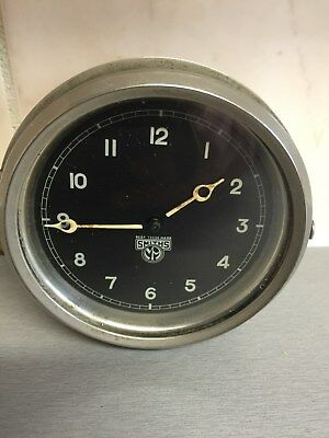 vintage smiths classic car clock vgc working order 1930s?