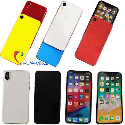 For iPhone XS Colorful Screen Non-Working Fake Dummy Display Phone Collection