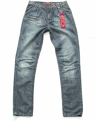 Girls Vintage RETOUR JEANS DENIM DELUXE Pleated Blue Jeans 14 Years W27 L29 New