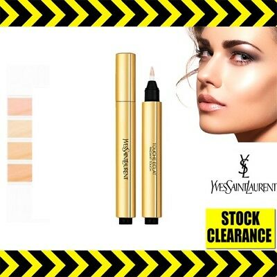 🔥YSL Touche Eclat Concealer Highlighter🔥Radiant Face Contour 1 1.5 2 .2.5 UK