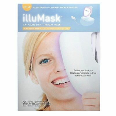 New Sealed IlluMask - LED Anti-Acne Light Therapy Mask Smoother Skin Less Red