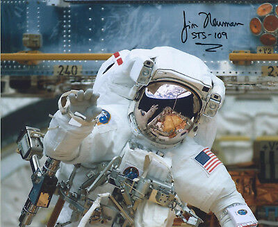 ASTRONAUT JAMES NEWMAN SIGNED 8x10 PHOTO