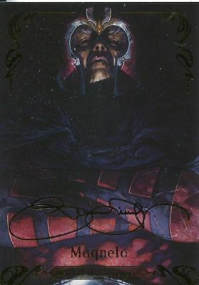 Marvel Masterpieces 2018 Tier 3 Gold Base Card 81 Magneto