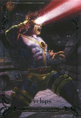 Marvel Masterpieces 2018 Tier 3 Base Card [999] 66 Cyclops