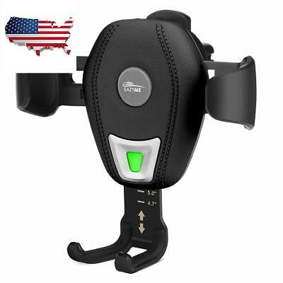 Wireless Fast Car Charger Cellphone Holder Air Vent Mount for iPhone Samsung NEW