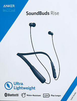 Anker Soundbuds Rise Wireless Bluetooth Headphones Wireless Neckband Earbuds IPX