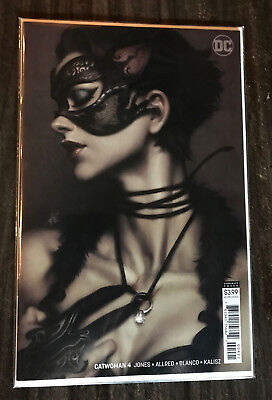 Catwoman #4B Variant Stanley Artgerm Lau Cover (2018 DC) NM