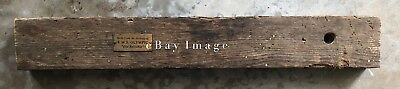 RMS Olympic Section of Pine Decking / White Star Line / RMS Titanic