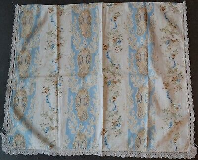 Antique French Paisley/Floral Fabric