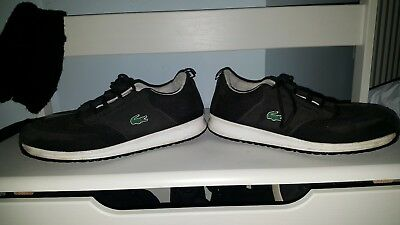 cd8fa5b316a800 BOYS LACOSTE TRAINERS Toddler 5 - £3.20