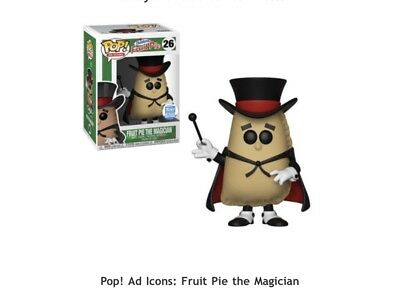 Funko Pop! Vinyl Ad Icons Fruit Pie The Magician IN HAND FAST SHIPPING