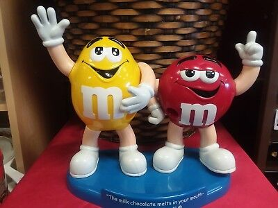 """M&M's Candy Dispencer  """"Melts In Your Mouth Not In Your Hand"""""""