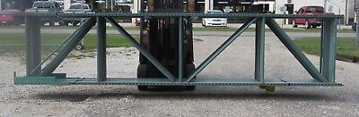 Teardrop Pallet Rack Upright Frame 16'-18' X 42'' EA