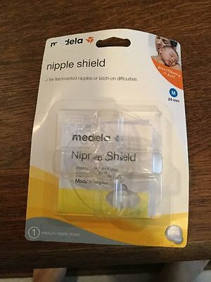 NEW Medela 1  Nipple Shield Medium 24mm