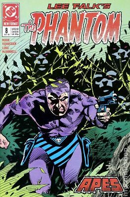 Phantom (DC 2nd Series) #8 1989 VF Stock Image