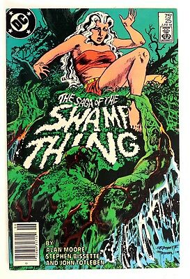 P269. SAGA OF THE SWAMP THING #25 DC 7.5 VF- (1984) 1st Cameo JOHN CONSTANTINE `