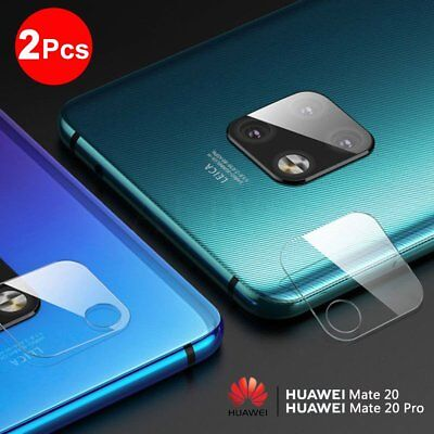 2Pcs For Huawei Mate 20/20 Pro Back Camera Lens Tempered Glass Screen Protector