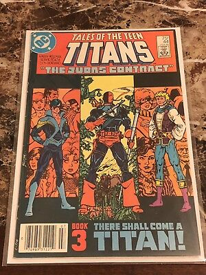 DC Comics Tales of the Teen Titans #44 - 1st Nightwing (1984) VF + Newsstand