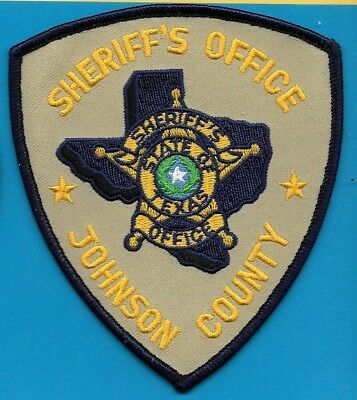 Johnson County Texas Tx Sheriff Office  Dept Jc So Sd State Outline