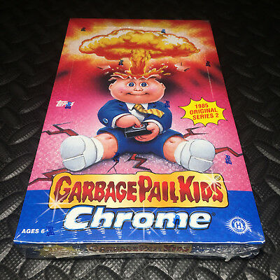 GARBAGE PAIL KIDS CHROME 2 NEW/SEALED HOBBY BOX 2014 (1985 2nd remake) RARE! W@W