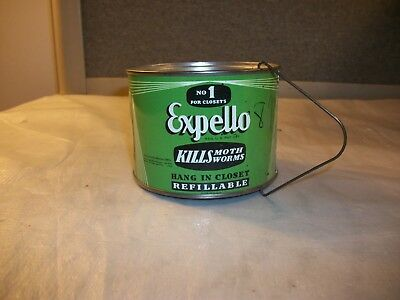 Vintage Expello Moth Worm Vapor Repellent Canister