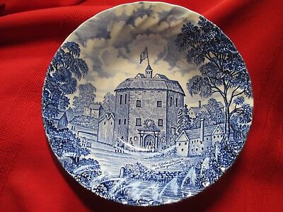 Royal Essex Ironstone Shakespeare's Country Cereal Bowl ~ Globe Theatre