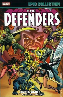Defenders Ashes to Ashes TPB (Marvel) Epic Collection #1-1ST 2017 VG Stock Image