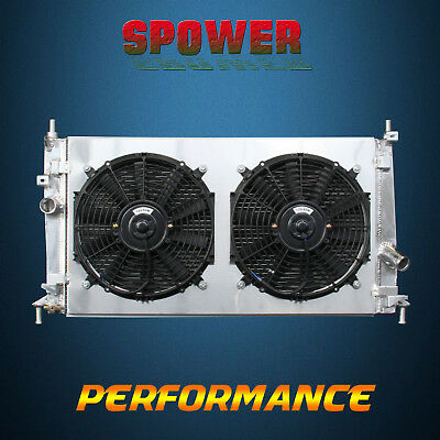Aluminum Radiator + Fan Shroud For Mazda 3 Grand Touring GS T X S I L4 MT 10-13