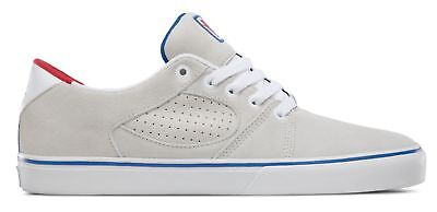 Es Square Three x Grizzly Mens Shoes in White