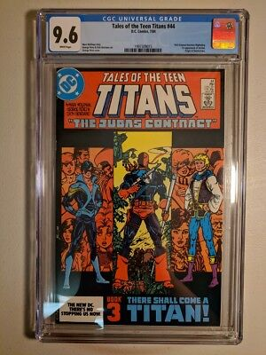 Cgc 9.6 Tales Of The Teen Titans #44 Dc Comics 1984 1St Appearance Nightwing